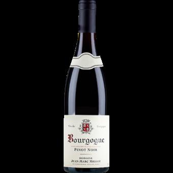 Bottle shot for 2019 Jean Marc Millot Bourgogne Rouge