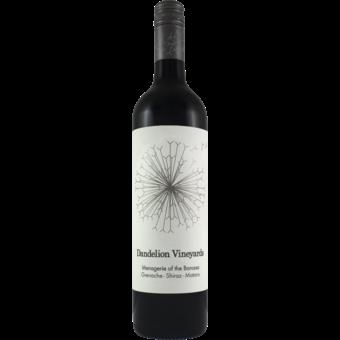 Bottle shot for 2019 Dandelion Menagerie Of The Barossa