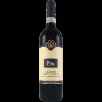 Bottle shot for 2016 Camigliano Brunello Montalcino