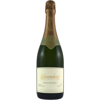 Bottle shot for 2018 Schramsberg Blanc De Blanc