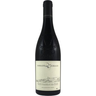 Bottle shot for 2019 Giraud Chateauneuf Du Pape Tradition