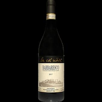 Bottle shot for 2017 La Ca Nova Barbaresco D.O.C.G.