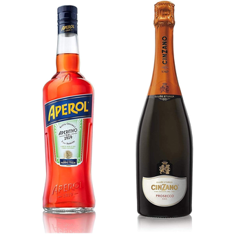Bottle shot for  Aperol/Cinzano Prosecco 2 Pack