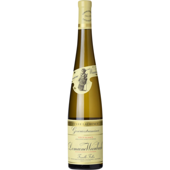 Bottle shot for 2019 Weinbach Gewurztraminer Cuvee Laurence