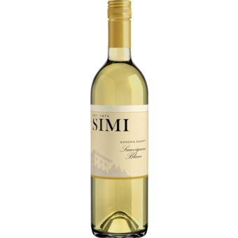 Bottle shot for 2020 Simi Sauvignon Blanc