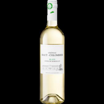 Bottle shot for 2020 Chateau Haut Colombier Blanc