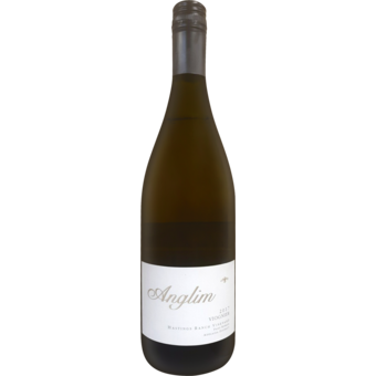 Bottle shot for 2017 Anglim Viognier Hastings Ranch