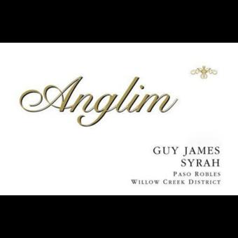 Label shot for 2014 Anglim Guy James Syrah