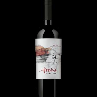 Bottle shot for 2017 Bodega Polo Herencia La Palabra Malbec