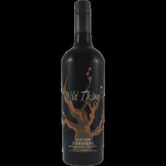 Bottle shot for 2018 Carol Shelton Wild Thing Zinfandel