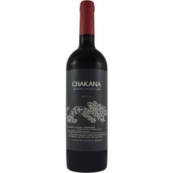 Bottle shot for 2019 Bodegas Chakana Malbec