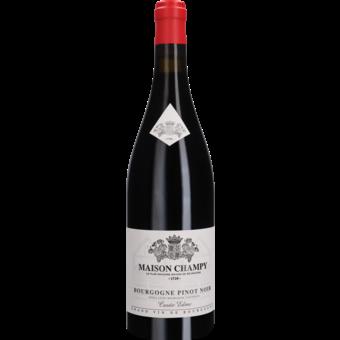 Bottle shot for 2015 Maison Champy Bourgogne Rouge Cuvee Edme