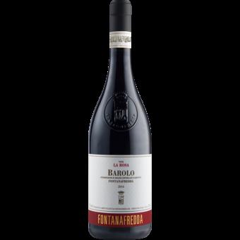 Bottle shot for 2016 Fontanafredda Barolo La Rosa