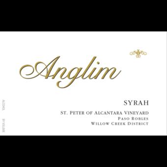 Label shot for 2014 Anglim Syrah St Peter Of Alcantara
