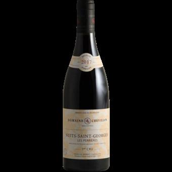 "Bottle shot for 2017 Domaine Robert Chevillon Nuits St. Georges 1er Cru ""Les Perrieres"""