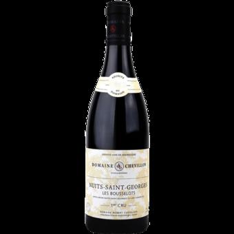"""Bottle shot for 2017 Domaine Robert Chevillon Nuits St. Georges 1er Cru """"Les Bousselots"""""""