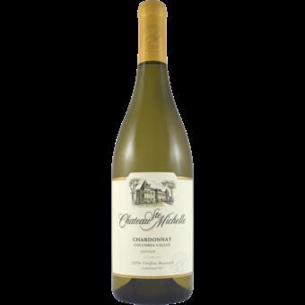 Bottle shot for 2020 Chateau St Michelle Chardonnay