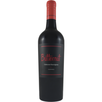 Bottle shot for 2020 Butternut Cabernet Sauvignon