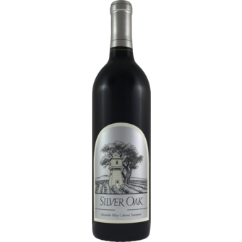 Bottle shot for 2017 Silver Oak Alexander Cabernet Sauvignon