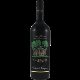 Bottle shot for 2018 Frank Family Vineyards Cabernet Sauvignon