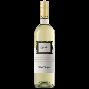 Bottle shot for 2020 Quadri Pinot Grigio