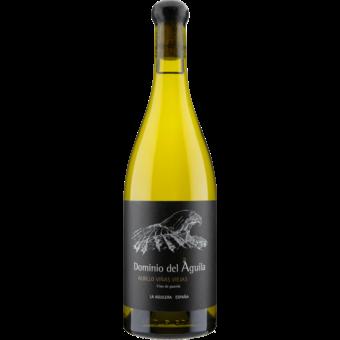 Bottle shot for 2017 Dominio Del Aguila Albillo Vinas Viejas Blanco
