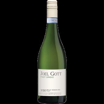 Bottle shot for 2020 Joel Gott Pinot Grigio