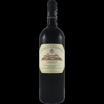 Bottle shot for 2017 Castello Dei Rampolla Sammarco