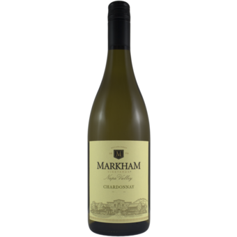 Bottle shot for 2019 Markham Vineyards Chardonnay