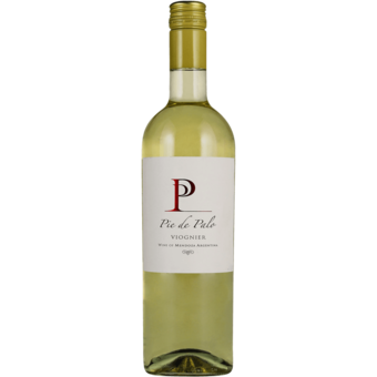 Bottle shot for 2019 Pie De Palo Viognier
