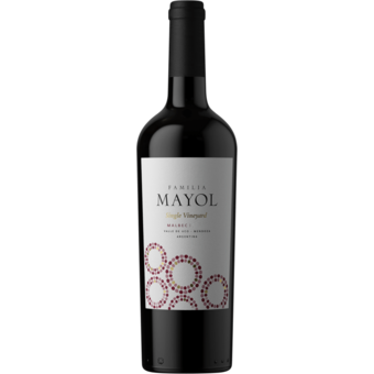 Bottle shot for 2018 Mayol Uco Valley Malbec