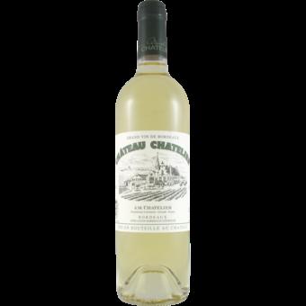 Bottle shot for 2020 Chateau Chatelier Bordeaux Blanc