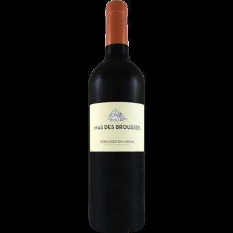 Bottle shot for 2018 Mas Des Brousses Terrasses Du Larzac Rouge