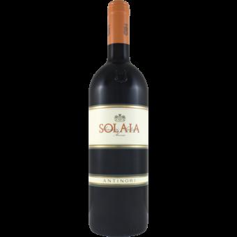 Bottle shot for 2018 Antinori Solaia