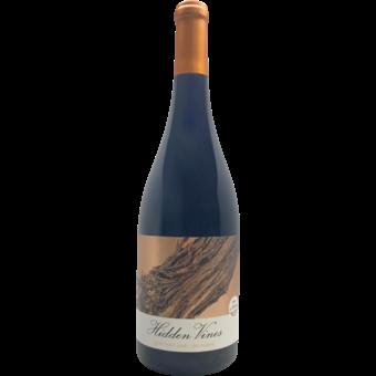 Bottle shot for 2019 Hidden Vines Pinot Noir