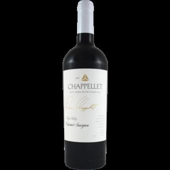 Bottle shot for 2018 Chappellet Signature Napa Cabernet Sauvignon
