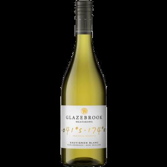 Bottle shot for 2021 Glazebrook Sauvignon Blanc