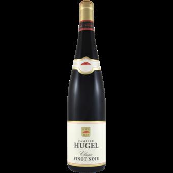 Bottle shot for 2017 Hugel Pinot Noir