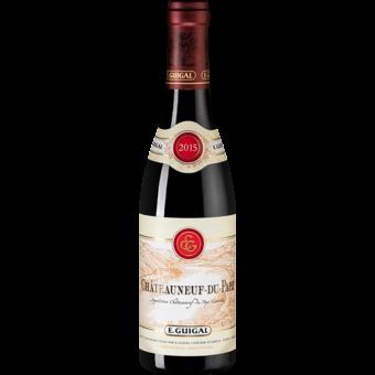 Bottle shot for 2015 Guigal Chateauneuf Du Pape Rouge