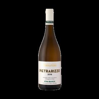 Bottle shot for 2018 Tornatore Etna Bianco Pietrarizzo