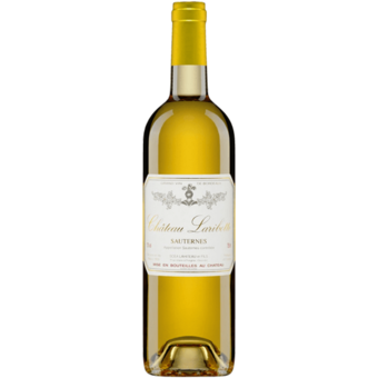 Bottle shot for 2018 Chateau Laribotte Sauternes