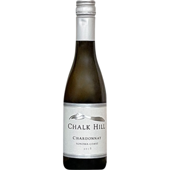Bottle shot for 2017 Chalk Hill Sonoma Coast Chardonnay