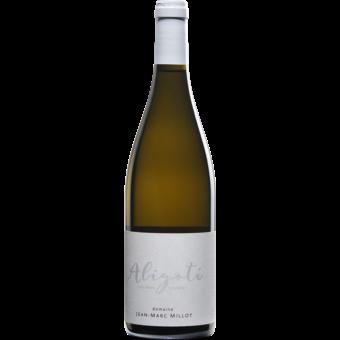 Bottle shot for 2020 Jean Marc Millot Bourgogne Aligote 'les Deux Terres'