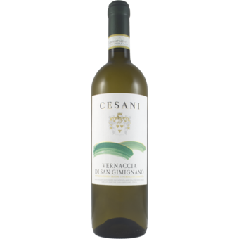 Bottle shot for 2020 Cesani Vernaccia Di San Gimignano