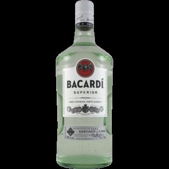 Bottle shot for  Bacardi Light (Silver)