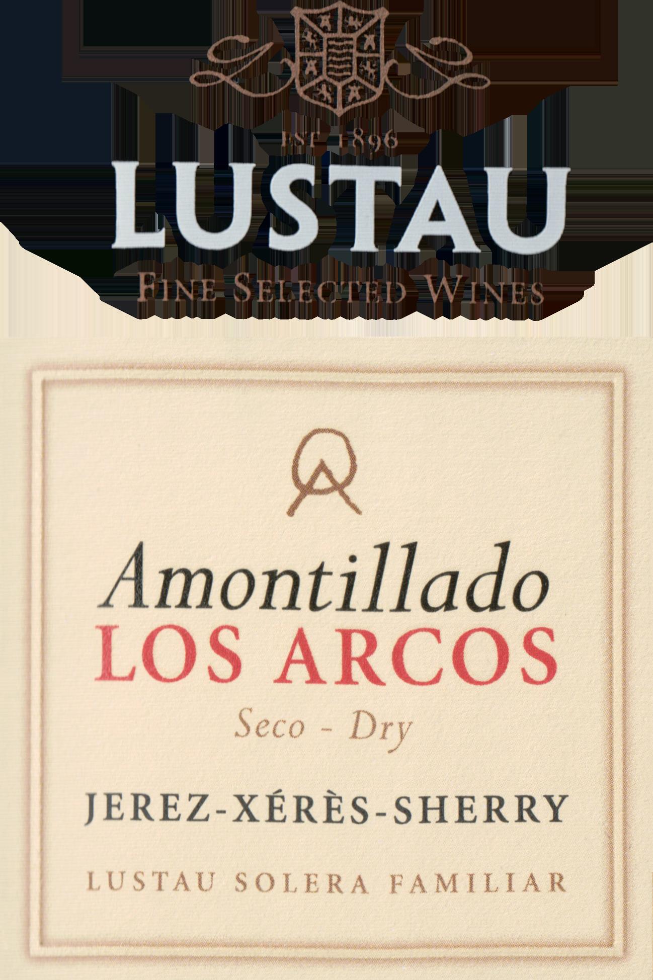 Lustau Dry Amontillado Los Arcos Solera Sherry Reserva (#82 On Ws Top 100 Wines Of 2012)