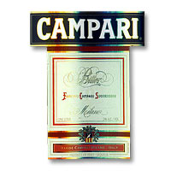 Label shot for  Campari