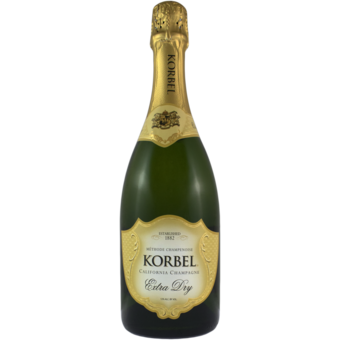 Bottle shot for  Korbel Extra Dry