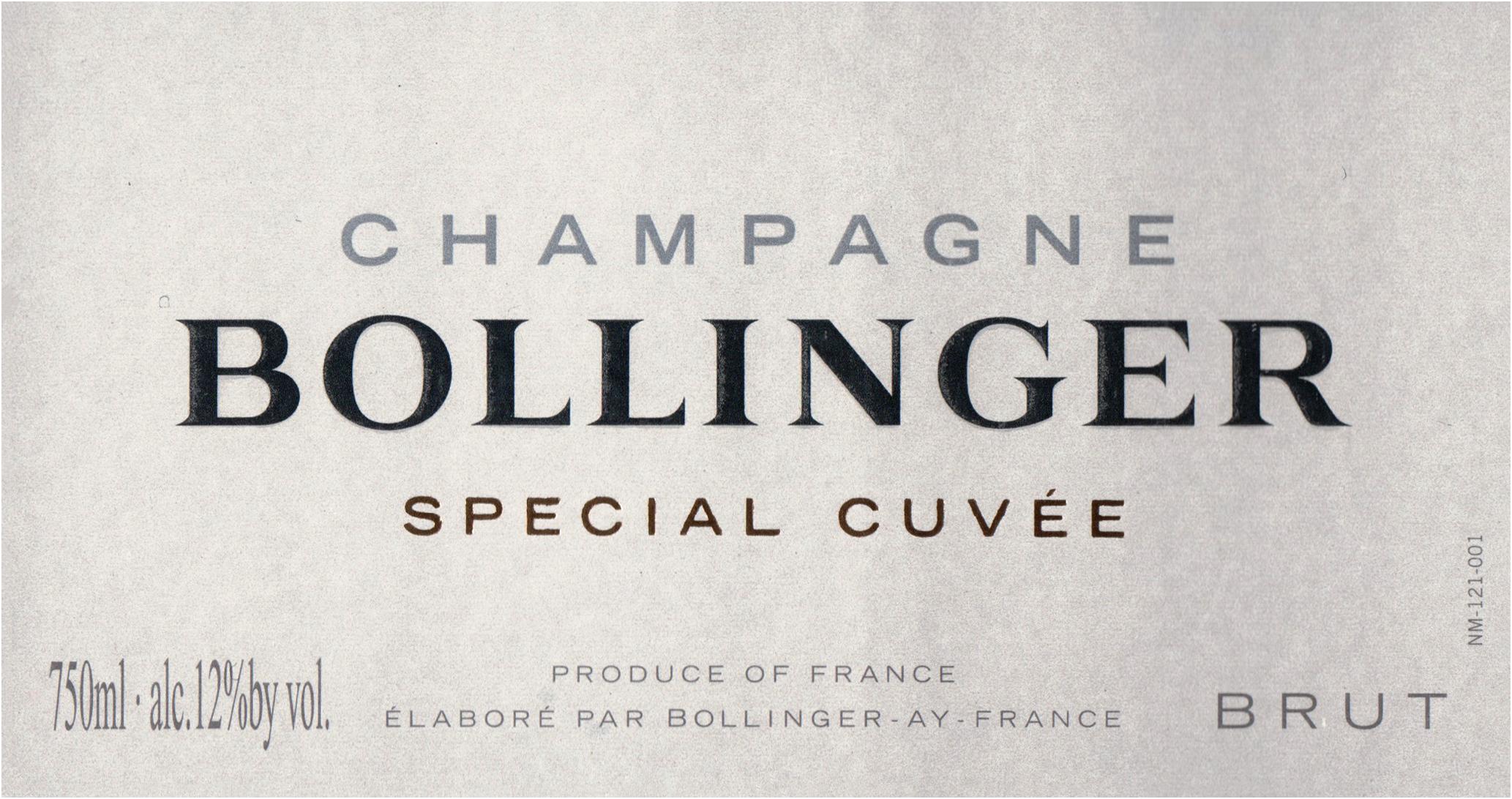 Bollinger Brut Special Cuvee