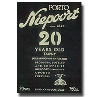 Label shot for  Niepoort 20 Year Tawny Port